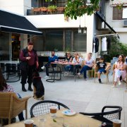 Dog Training Workshop for Sirius Dog Sanctuary at FICO Cafe Resto